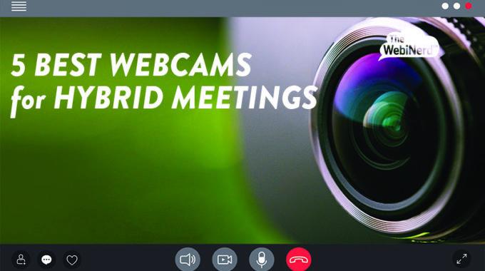 5 Best Webcams For Hybrid Meetings